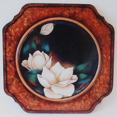 "Terry Brunner tole painting pattern ""Elegant Magnolias"""