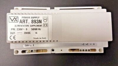 Videx Door entry Systems Subcomponent ~ (Power Supply) ART 893N