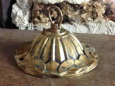 French Art Deco Chandelier Rose Hook Fabulous Stunning Rare Ding Dong Wow Wow