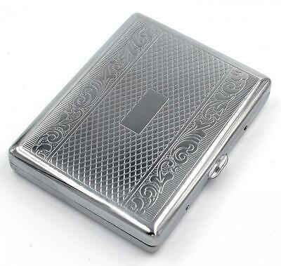 Victorian Vintage Style Cigarette Case Double Sided King 100s Smoke Holder