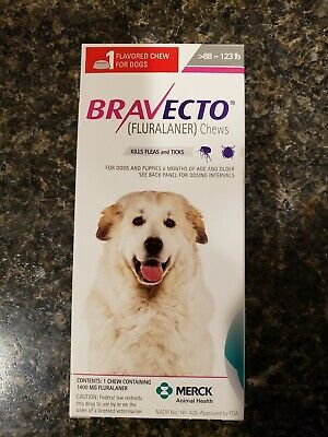Bravecto for dogs 88-123 lbs