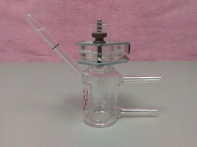 Crown Glass Co Microchemistry Micro Chemistry Jacketed Reaction Vessel Lab Tube