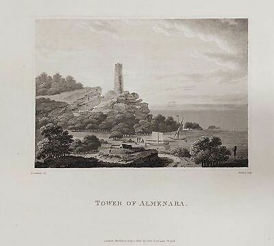 1808 - Almenara Spain Espana grabado Swinburne