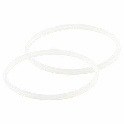 2 Pack Rubber Gaskets Sealing O-Ring Replacement Part for Nutri Ninja Blenders