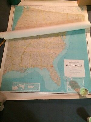 1972 United States Department Of Interior Geological Survey 42x84
