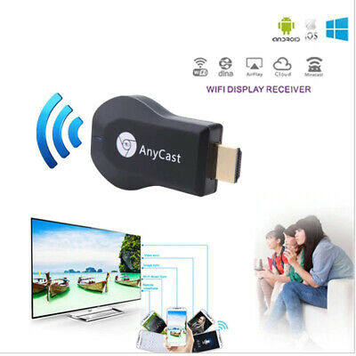 WiFi 1080P Wireless TV HDMI Stick AnyCast DLNA Airplay Dongle Empfänger Miracast