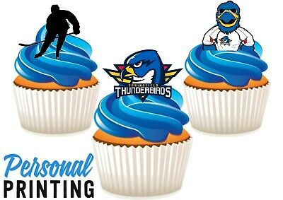 7.5 THUNDERBIRDS EDIBLE ICING BIRTHDAY CAKE TOPPER