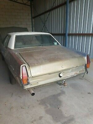 HQ Statesman second owner complete shed barn find holden 308 turbo 400