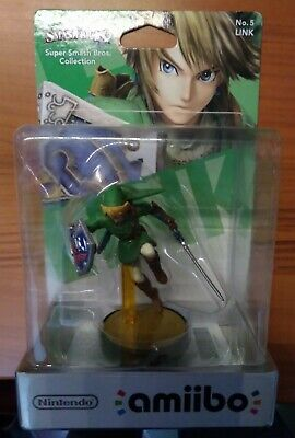 AMIIBO NINTENDO - LINK THE LEGEND OF ZELDA super smash bros. wii wiiu 3ds switch