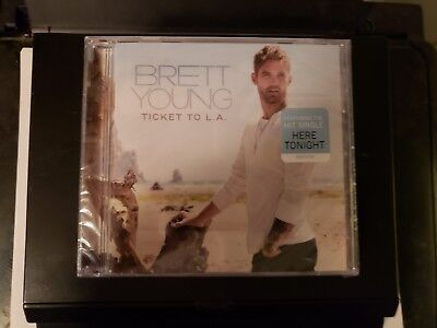 NEW Brett Young - Ticket to L.A. LA CD New Sealed Wrapped Unopened Here Tonight