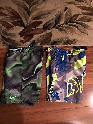a5be5d1561 Choice 1 New NWT Boys Nike Blue Or Green Swim Trunks Board Shorts Sz 4,