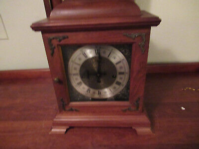 Vintage German Westminster Chime Bracket Clock