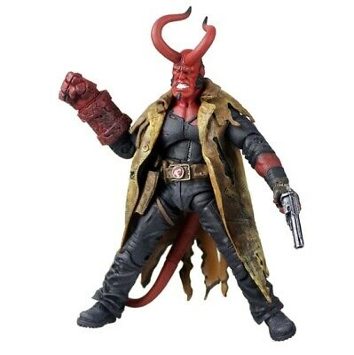 Hellboy Doll with Weapons PVC Action Figure Collectible Model Toy 20cm