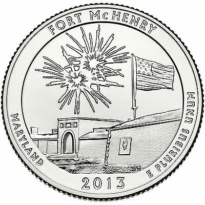 2013 Fort Mchenry National Monument (Maryland) P&d Set ****instock****