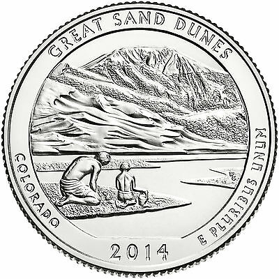 2014 Great Sand Dunes National Park (Colorado)  P&d Set ***** In-Stock*****