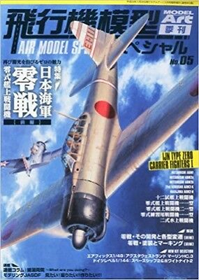 Model Art 2014 5 Special Modeling Magazine Book Japan AIR Navy Type 0 Fighter