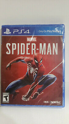 Marvel's Spider-Man spiderman Sony Playstation 4 game ps4 games !! SHIPS FREE !!