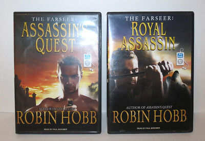 ROBIN HOBB MP3 CDs The Farseer Assassin's Quest & Royal Assassin 2010 Audiobooks