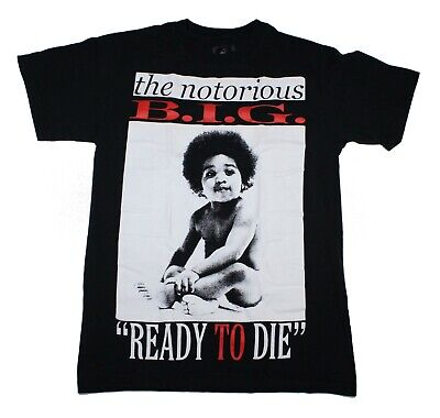 f51061dc Notorious BIG Ready To Die Biggie Smalls Brooklyn Mint Baby T Shirt Men's  Size S