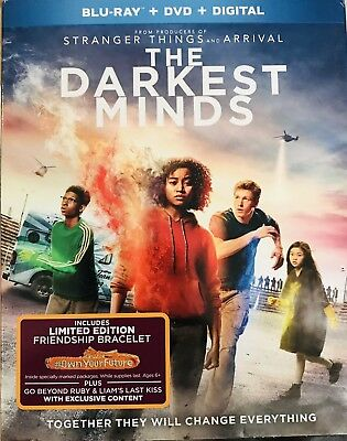 The Darkest Minds Blu Ray, Dvd And Digital Code 2018 With Slipcover