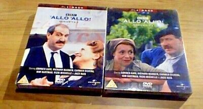 'Allo 'Allo - Series 1 And 2 And 3 and 4 BBC UK DVD 6-Disc Box Set NEW & SEALED