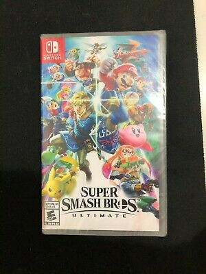 Super Smash Bros. Ultimate (Nintendo Switch, 2018) Brand New Sealed!