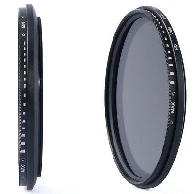 58mm Variable ND Filter Neutral Density ND2 to ND400 for Canon 600D 700D LF111