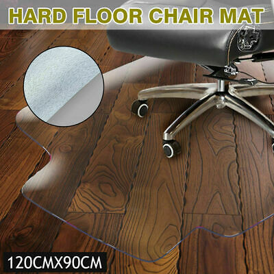 New Carpet Floor Office Computer Work Chair Mat Vinyl PVC Plastic 1200 x 900mm