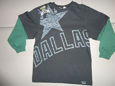 Reebok NHL Youth Dallas Stars Covert Long Sleeve Tee Shirt