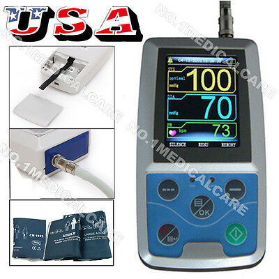 CONTEC Ambulatory Blood Pressure Monitor+ USB PC Software 24h NIBP Holter ABPM50