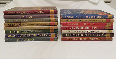 Lot of 15 Horizon Caravel History Books *Hardcover* First Editions