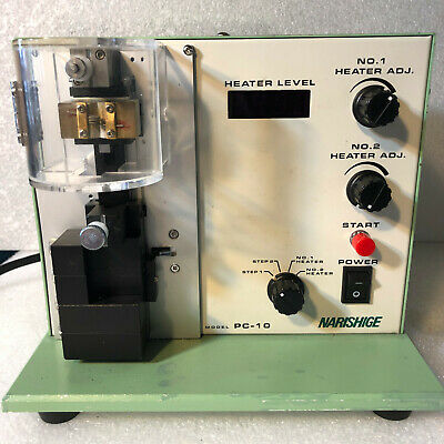 Narishige Pc-10 Dual Stage Micropipette, Microelectrode, Needle Puller Processor
