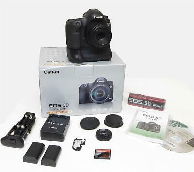 ONLY 29,980 Clicks - Canon 5D Mark III Mk3 22.3MP + 50mm F/1.8 STM + Grip +EXTRA