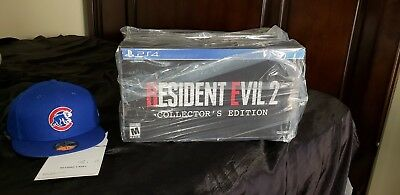 NEW Resident Evil 2 Remake Collector's Edition (PS4) SEALED!