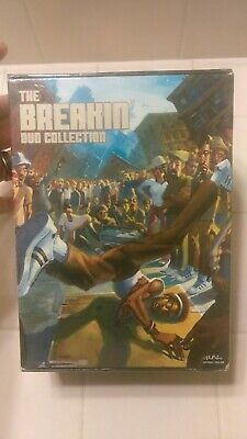 Breakin DVD Collection 4-Disc Set Brand new - Sealed
