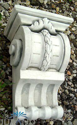 Console Statue Figure Stone Wall Bracket Roman Style Decoration Solid New 7507
