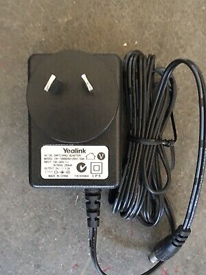 Genuine Yealink Oh-1006B0501200U-Saa  Ac/Dc Power Supply Adapter 5V 1.2A