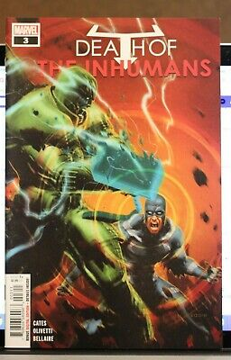 Death Of The Inhumans #3 First Print Marvel Comics (2018) Black Bolt