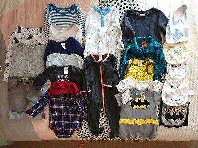 Size 0 Baby Boys Clothes Bulk Winter Bundle great condition, some new with tags