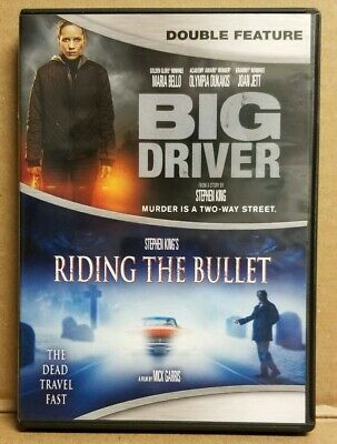 Big Driver/ Riding The Bullet 2-Disc Dvd Set Double Feature