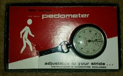Vintage new Haven Pedometer