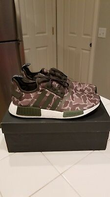 adidas NMD R1 'Camo' SesameSteel Base Green For Sale
