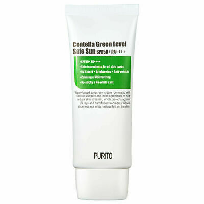 [PURITO] Centella Green Level Safe Sun (SPF50+ / PA++++) 60ml