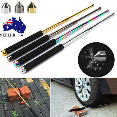 21/26'' Outdoor Telescopic Stick Defense Protect Self Safety Hiking Protable AU