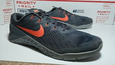 8711928ecffb Pre Owned Used Nike Metcon 3 Crossfit Training Weight Lifting Shoes Mens Sz  13