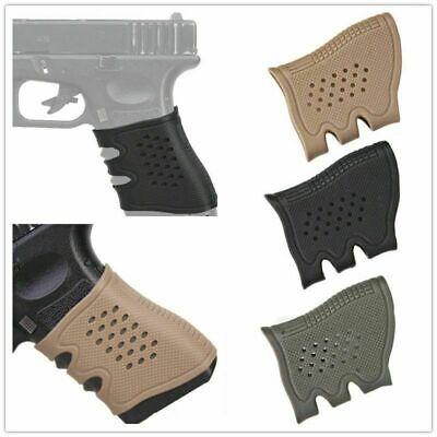 New Outdoor Tactical Pistol Rubber Sleeves Grip Anti Slip Hunting 3 Color