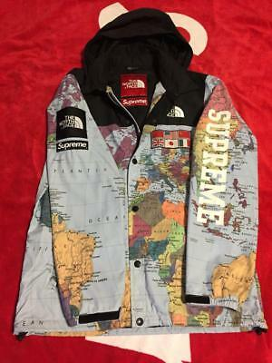 83fa4a76a SUPREME X THE North Face map sizeS MEN JACKET COAT VERY RARE ...