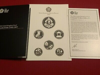 2014 Kitchener royal mint proof coin set COA certificate of authenticity