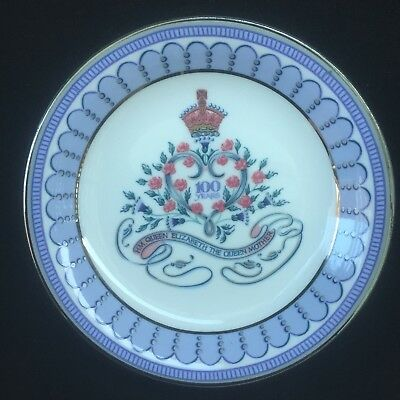 Queen Mother 100 Years Celebration Plate