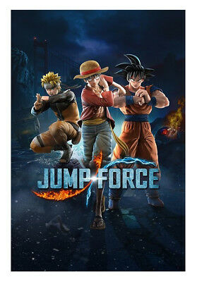 Jump Force -- Standard Edition (Sony PlayStation 4, 2019) Digital Download